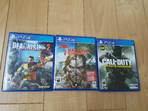 PS4 games $15 each