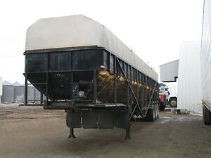 '95 Trinity Farm Bed 46ft Tri-Axle Live Bottom Trailer