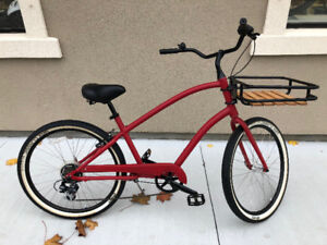 Electra Townie - Powder Coated Matte Red