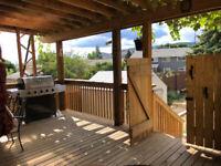 Duplex property for Sale West Kelowna Walk out No Land/condo Fee