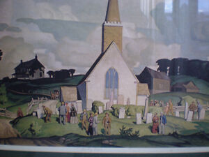 """A.J. Casson - """" Country Crisis """" -  Limited Edition Print Kitchener / Waterloo Kitchener Area image 2"""