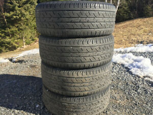 Four Continental 235/55R17 Summer Tires
