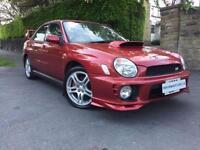 2001 Y SUBARU IMPREZA 2.0 WRX TURBO AWD 4D 218 BHP
