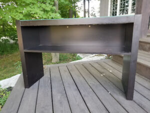 IKEA Black/Brown Side Table