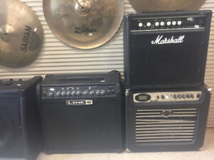 Guitar & Bass Amps!