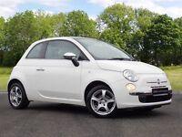 Fiat 500 1.2 Lounge 3dr (start/stop) (white) 2011