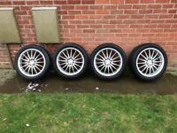 "VW Golf Mk4 17"" alloy wheels"