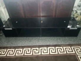 """Black 60"""" High Gloss Type TV/Television/Entertainment Stand/Storage"""