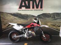 HUSQVARNA WRE125/144 SUPERMOTO 2011, 12K MILES, VERY CLEAN (6 MONTHS WARRANTY)