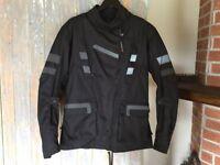Manteau de moto femme