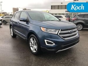 2018 Ford Edge Titanium AWD  2.0L, Nav, Moonroof, Adpt Cruise