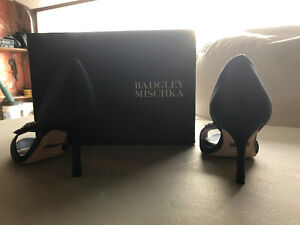 BADGLEY MISCHKA HI HEEL SHOES SIZE 7 Strathcona County Edmonton Area image 5