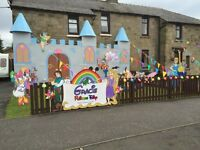 Gala day castle Disney theme