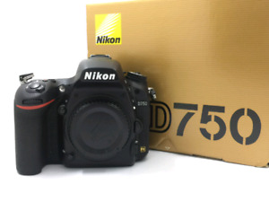 Nikon D750 24.3mp Dslr *Mint Condition*