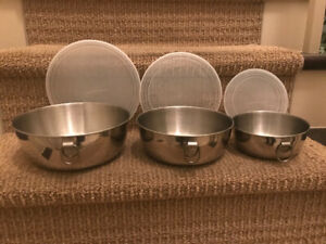Kitchen - Stainless Steel Mixing Bowls