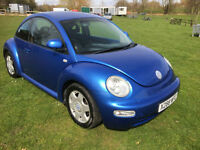 Volkswagen Beetle 2.0 2001 LONG MOT HPI CLEAR GREAT VALUE