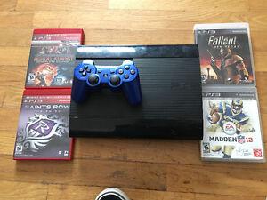 PlayStation 3 500gb 4 games