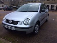 Volkswagen Polo 1.2 5dr Low Mileage/ Full Service History/ Year MOT