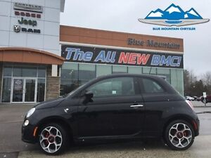 2016 Fiat 500 Sport   ACCIDENT FREE, BLUETOOTH, FUEL SAVER