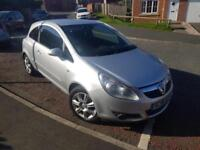 Vauxhall/Opel Corsa 1.2i 16v ( a/c ) 2007MY Design ONLY 67000 MILES FROM NEW