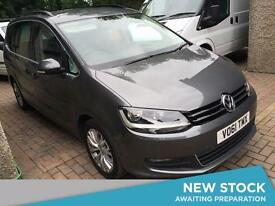 2011 VOLKSWAGEN SHARAN 2.0 TDI CR BlueMotion Tech 170 SE DSG Auto MPV 7 Seats