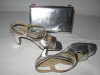 ensemble de sandale et sac à main