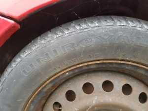 Ford focus and fiesta snow tires