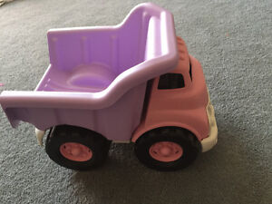Gently Used Green Toys dump truck
