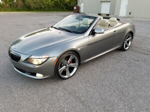 2009 BMW 650 CONVERTIBLE **** LOW KM *** FINANCING AVAILABLE