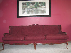 Re upholstery  Antique Sofa and Chair