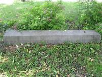 Blocs de ciment pour stationnement