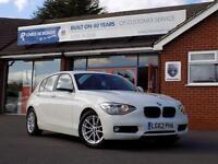2012 62 BMW 1 SERIES 1.6 116D EFFICIENTDYNAMICS 5DR X ZERO RFL * DIESEL