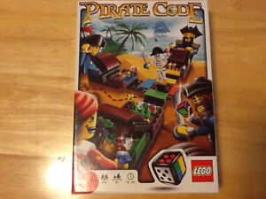 *RARE* LEGO PIRATE CODE GAME #3840