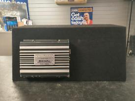 Kenwood KAC-7295 600W Amplifier and Car Subwoofer