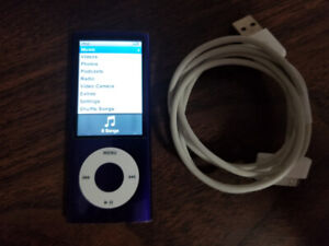 8 GB ipod nano 5th generation