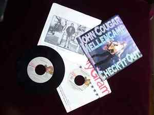Springstein & Mellencamp 45 Vinyl Records, all 4 for $15 Cambridge Kitchener Area image 1