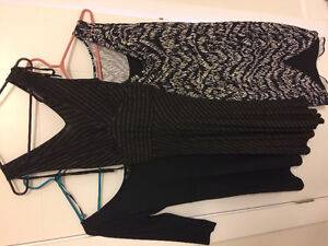 Women's jackets, dresses, tops and shoes