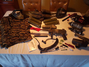 Tippman A5 original, Vforce Grill and lots more must see!!