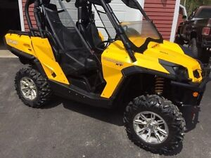 2012 can am commander 1000 XT with full enclosure