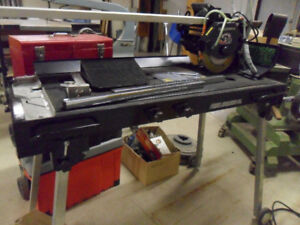 gently used Pearl Abrasive VX10-RS Rail Saw