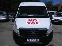 2013 VAUXHALL MOVANO VAN MWB 2.3 CDTI L2 H2 A C 125ps Diesel