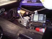 78 Camaro Drag Car c/w race trailer