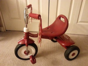 Red Radio Flyer Tricycle