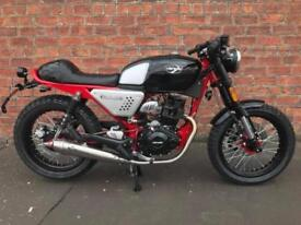 NEW Hanway Black Cafe 125 EFI learner legal own this bike for only £11.20 a week