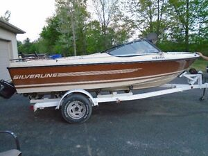 EXCELENT FISHING BOAT, MOTOR, TRAILER , NO ISSUES ,RUNS GREAT !!