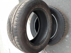 235/55R17 99H Continental Conti Pro Contact tires.  Set of 2.
