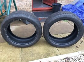 Two Nankang tires