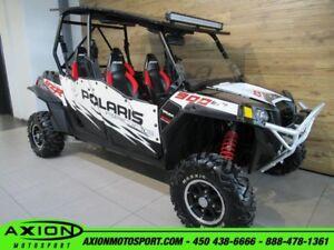 2013 Polaris RZR 4 900 EPS XP 61.31$/SEMAINE