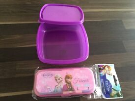 Lunch box and cutlery set