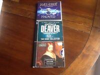 3 CD AUDIO BOOKS
